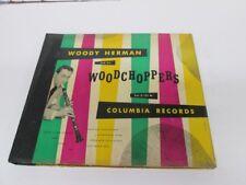 78tk album-Jazz-COLUMBIA C-121-Woody Herman & his Woodchoppers -4 disc set