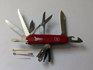 "Original Victorinox ""Master Craftsman Swiss Army Knife- Space Shuttle"" 91mm"