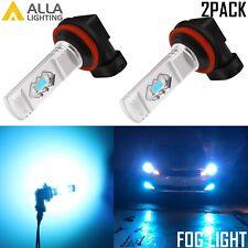 Alla Lighting H8 35-LED Cornering Light|Fog Light Bulb 8000K,Light Blue,Ice Blue