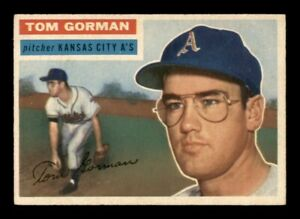 1956 Topps Set Break # 246 Tom Gorman EX-MINT *OBGcards*