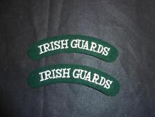 Paire de Gardes Irlandais Chiffon Insignes D'épaule Badges Correctifs