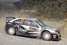 Petter Solberg Citroen Xsara WRC Cyprus Rally 2009 Photograph 2