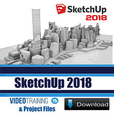 SketchUp 2018 Video Training Tutorial 5 Course Pack with Exercise Files DOWNLOAD