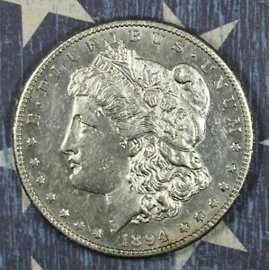 1894-S Morgan Silver Dollar Proof Like Collector Coin. FREE SHIPPING
