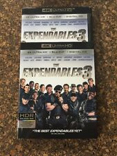 The Expendables 3 (DVD, 2016, Ultra HD Blu-ray) With Slipcover!