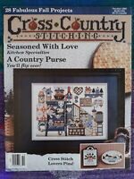 Cross Country Stitching Magazine Oct 1993 ~ Country ~Love~Bunnies~God Bless JKL