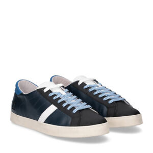 D.A.T.E. Hill Low CALF blu