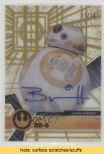 2017 Topps Star Wars High Tek #39 Brian Herring Bb-8 /50 Read Auto Card 5i7