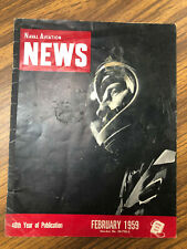 Naval Aviation News RARE ISSUE (September 1959, No. 274) 40th Anniversary