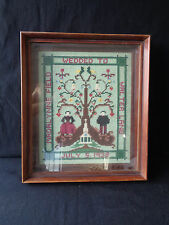 Walter Lang King &  I Madalynne Field Silent Movie Actress Marriage Cross stitch
