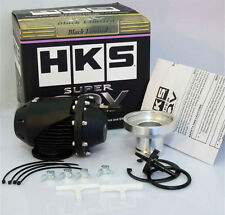 HKS Universal Black SSQV SQV Pull-type Turbo Blow Off Valve Bov with Adapter JDM