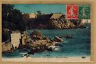 Cpa Toulon Cap Brun - batterie basse rp160