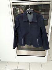 Ellen Tracy Size 12 Blue Jean Jacket