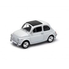 Welly 22515 FIAT 500 Blanco 1957 ESCALA 1:24 Coche a escala NUEVO !°