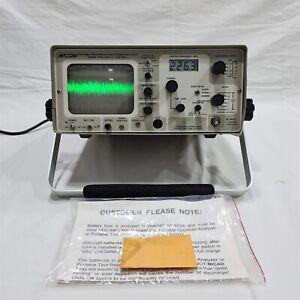 AVCOM PSA-65A Portable Spectrum Analyzer. 2~1000MHz. Made in USA