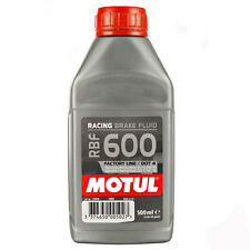 Motul RBF 600 Racing Brake Fluid Full 100% Synthetic Dot 4