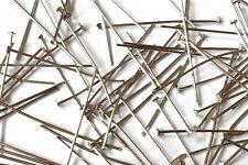 Headpins Acero 20 mm 30 mm 32 mm 35 mm 45 mm 500 piezas