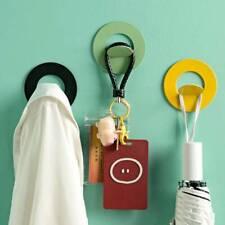 Metal Self Adhesive Hook Non-stick Hook Bathroom Bathrobes Hat Seamless Hooks