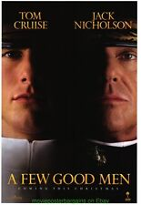 A FEW GOOD MEN  MOVIE POSTER Original SS 27x40 TOM CRUISE JACK NICHOLSON
