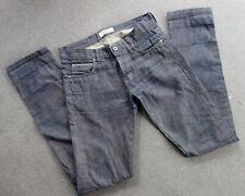 Beautiful Men's NAKED & FAMOUS Skinny Guy Indigo X Beige 10 ox Selvedge Jeans 33