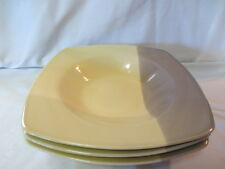 2 Coventry Stoneware Colortones, Cream & Mocha Soup / Cereal Bowls