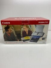 New Canon Pixma ip100 Inkjet Printer Portable W/ Bonus Battery