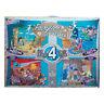 GRAFIX 4 x Jigsaw Aladdin Pinocchio 40 x 30cm Jungle Book Peter Pan 45 Pieces