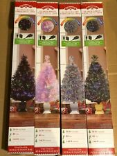 "Holiday Time 32"" Fiber Optic Tree (Choose Color)"