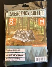 Emergency Shelter Blanket Reflective Tent 2 Person Camping Survival Shelter.
