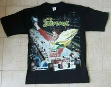 vintage Ayrton Senna shirt Formula 1 ATTENTION 1-5 ITEMS SAME SHIPPING COST