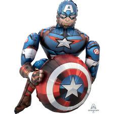 Party Supplies Boys Birthday Airwalker Foil Balloon The Avengers Captain America