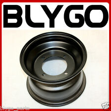 "Black 19X7.00 - 8"" Inch Large 4 Stud Front Wheel Rim Quad Dirt Bike ATV Buggy"