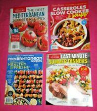 Mixed Lot of 4 Food Recipe Magazines 2020 Brand New Free USA Shipping