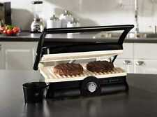 Commercial Electric Panini Toaster Sandwich Maker Grill Cooker Kitchen Machine