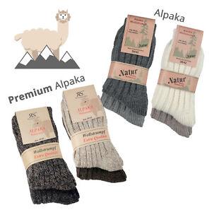 "*NEU* 2, 4, 6, 8 , 10 Paar Alpaka Wollsocken ""Soft Alpaka"" Weich *WARM* Edel"