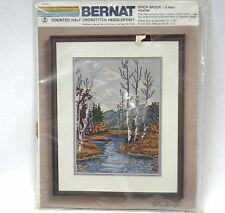 Bernat Birch Brook 18 Mesh H04506  Counted Crosstitch Needlepoint