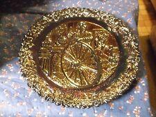 "Fenton Collector Plate 1978 # 9 Wheelwright Richard Ewstead 8 1/4"" Wide"