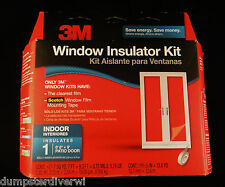 "3M Indoor Window Insulator Kit, clear Patio Door Kit 2144 6'8"" x 9' large window"