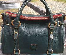 *Dooney & Bourke*TEAL*Small*Florentine Leather*Satchel*Shoulder Bag#17060F S178