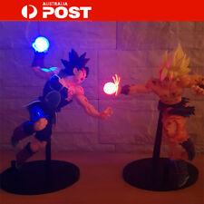 Au Anime Dragon Ball Z Multicolor LED Illuminated Goku Bardock PVC Action Figure