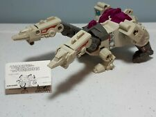 Vintage 1987 Transformers G1 Terrorcon Hun-Gurrr with Abominus instructions