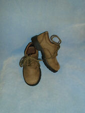 JJ School Jumping Jacks Brown Leather Tommy Lace-Up Oxfords Size 10 1/2 M New!