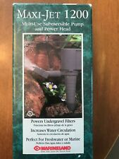 Maxi-Jet 1200 Multi-Use Submersible Pump & Power Head - Brand New