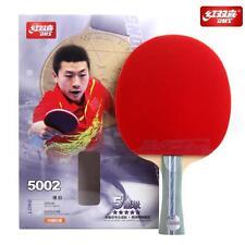 DHS 5 Star Table Tennis PING PONG Racket 5002 - Shake-Hand / Long Handle Paddle