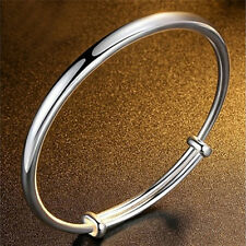 Fashion Silver Plated Bangle Royal Bracelet Gifts For Women Classic Jewelry.QA