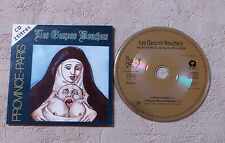 "CD AUDIO FR/ LES GARÇONS BOUCHERS ""PROVINCE-PARIS"" CD SINGLE PROMO  CARD SLEEVE"