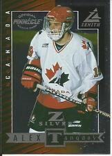 1997-98 ZENITH - Z SILVER -  ALEX TANGUAY ROOKIE CARD