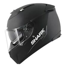 NEW CASCO SHARK SPEED R NERO OPACO TG. XS 53/54 CASCO MOTO CON PARASOLE