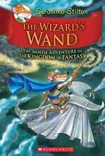 THE WIZARD'S WAND Kingdom of Fantasy Adventure # 9 GERONIMO STILTON New Book HB