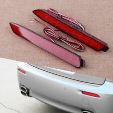 2x Car LED Rear Bumper Reflector Tail Brake Stop Light Fit For Toyota Wish 09-13